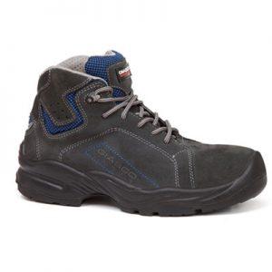 Visoka električarska cipela AMPERE | Otpornost potplata na kontaktnu toplinu i električne šokove do 500V za period od jedne minute | Otpornost na elektricitet do 500V - Radna Obuća - Radne Cipele - Radna Odjeća