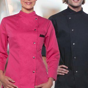 Kuharske jakne na drukere LARISSA i LARS