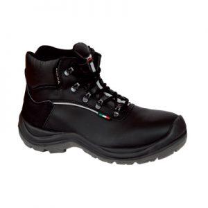 Visoke zaštitne cipele KIEL S3 izolacija od kontaktne topline do 300°C i od hladnoće do -17°C, WINDTEX® membrana - otpornost na prodiranje i upijanje vode, ESD klasa 3 za elektrostatičku otpornost.