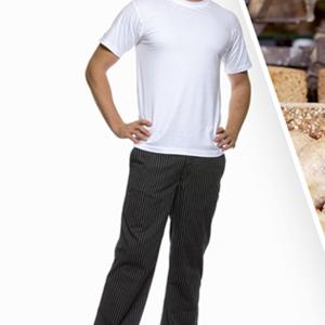 Kuharske hlače prugaste JACK