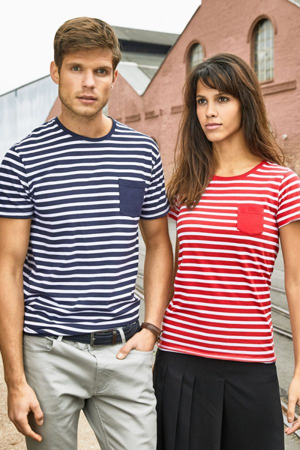 Prugaste t-shirt majice organic