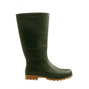 Visoke zelene čizme PESCI | Protuklizna svojstva | Potpuna otpornost na prodiranje vode - Radna Obuća - Radne Cipele - Radna Odjeća