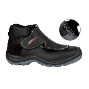 Visoka radna varilačka cipela ERCOLANO S3 s mehanizmom brzog skidanja