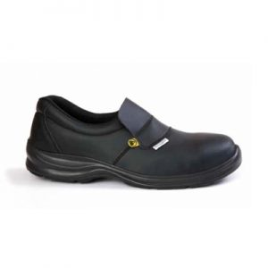 Niske kožne radne cipele MEDINA S2 otporne na grebanje i vrlo prozračne