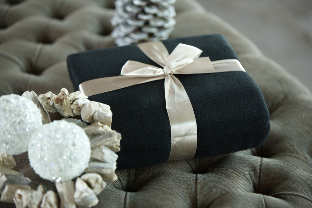 Božićne flis deke