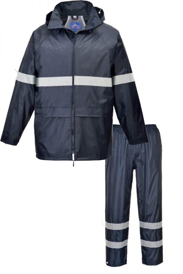 Kišna odjeća s reflektirajućim trakama