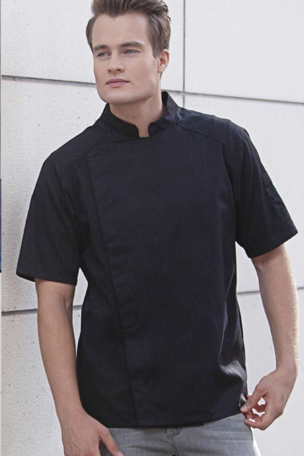 Kuharske jakne kratki rukav SAM